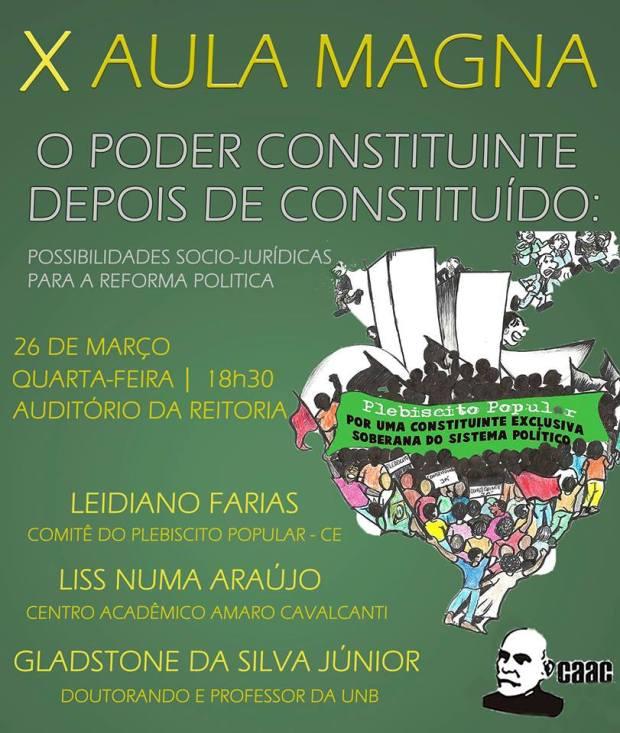 X aula magna