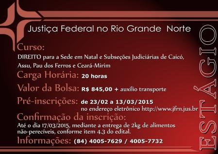 CartazEstagioDireito2015